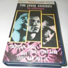 Vídeos y DVD Musicales: KITUS1983 --- FINE YOUNG CANNIBALS : THE VIDEOSINGLES --- (RARÍSIMA!!!) VHS EDICION 1986.. Lote 26061998
