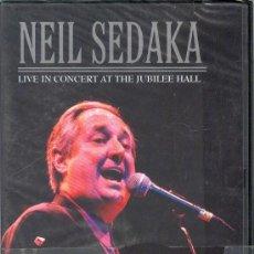 Vídeos y DVD Musicales: UXD NEIL SEDAKA LIVE IN CONCERT AT THE JUBILEE HALL DVD MUSICAL INGLES OH CAROL 2002 . Lote 26482131