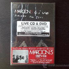 Vídeos y DVD Musicales: MAROON 5 - FRIDAY THE 13TH - LIVE CD & DVD - 2005. Lote 26375752