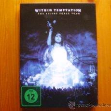 Vídeos y DVD Musicales: 2 DVD Y 1 CD WITHIN TEMPTATION: THE SILENT FORCE TOUR (2.005) ¡NUEVO! 350 MINUTOS DE DVD Y 76 DE CD!. Lote 27621015