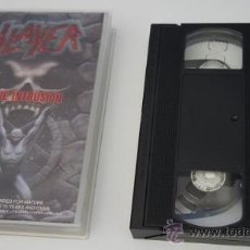 Vídeos y DVD Musicales: VIDEO VHS 'LIVE INTRUSION' - SLAYER. Lote 25017156