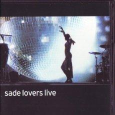 Vídeos y DVD Musicales: UXD SADE LOVERS LIVE DVD CONCERT FILM 2002 KING OF SORROW VIDEO 56 MINUTOS. Lote 26822645