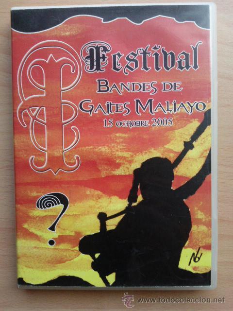 DVD FESTIVAL BANDES DE GAITES MALIAYO - 15 OCHOBRE 2005 - VILLAVICIOSA - ASTURIAS (Música - Videos y DVD Musicales)