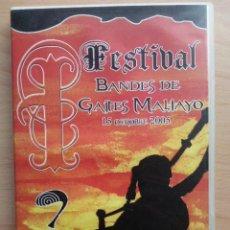 Vídeos y DVD Musicales: DVD FESTIVAL BANDES DE GAITES MALIAYO - 15 OCHOBRE 2005 - VILLAVICIOSA - ASTURIAS. Lote 113619402