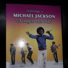 Vidéos y DVD Musicaux: DVD HOMENAJE A MICHAEL JACKSON , 2007. Lote 26328294