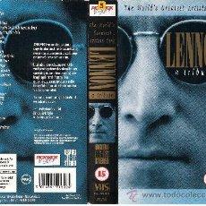 Vídeos y DVD Musicales: TRIBUTO A LENNONVARIOS ARTISTAS241989. Lote 26411926