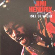 Vídeos y DVD Musicales: JIMI HENDRIX: AT THE ISLE OF WIGHT (1970) - VIDEO VHS 57 MINUTOS ROCK PSICODELIA. Lote 26876767