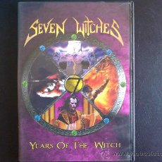 Vídeos y DVD Musicales: SEVEN WITCHES. YEARS OF THE WITCH - DVD. Lote 27349915
