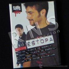 Vídeos y DVD Musicales: CD MULTIMEDIA ESTOPA FUENTE DE ENERGÍA MÚSICA GRUPO ESPAÑOL POP ROCK FOTOS VIDEOCLIP MAKING OF VÍDEO. Lote 28143742