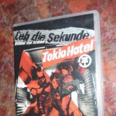 Vídeos y DVD Musicales: DVD . TOKIO HOTEL . BEHIND THE SCENES. Lote 28706911
