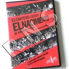 Vídeos y DVD Musicales: DVD CONCIERTO EL CANTO DEL LOCO NACIMIENTO - ÁLEX DE LA IGLESIA DOCUMENTAL MÚSICA AQUARIUS COCA COLA. Lote 29278002