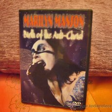 Vídeos y DVD Musicales: MARILYN MANSON - LIVE - BIRTH OF THE ANTICHRIST - DVD. Lote 29443131