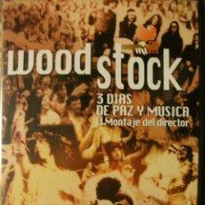 Video e DVD Musicali: WOODSTOCK 3 DIAS DE PAZ Y MUSICA EL MONTAJE DEL DIRECTOR DVD 216 MINUTOS. Lote 241866680
