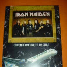 Vídeos y DVD Musicales: IRON MAIDEN ED FORCE ONE ROUTE TO CHILE DVD. Lote 29981646