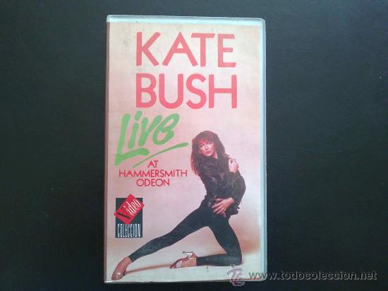 KATE BUSH - LIVE AT HAMMERSMITH ODEON - VHS