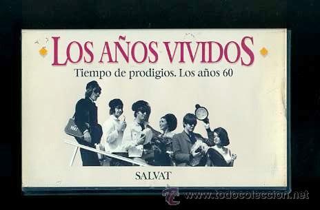BEATLES VIDEO VHS TIEMPO DE PRODIGIOS AÑOS 60 EDITORIAL SALVAT 1993 RTVE ESPAÑA (Música - Videos y DVD Musicales)