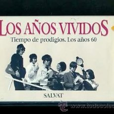 Vídeos y DVD Musicales: BEATLES VIDEO VHS TIEMPO DE PRODIGIOS AÑOS 60 EDITORIAL SALVAT 1993 RTVE ESPAÑA. Lote 31095990