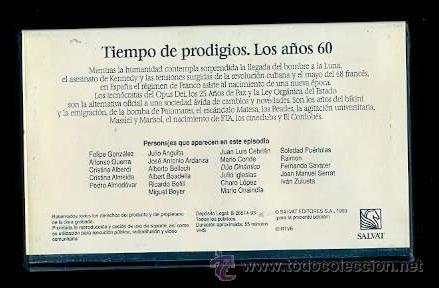 Vídeos y DVD Musicales: BEATLES VIDEO VHS TIEMPO DE PRODIGIOS AÑOS 60 EDITORIAL SALVAT 1993 RTVE ESPAÑA - Foto 2 - 31095990