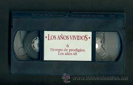 Vídeos y DVD Musicales: BEATLES VIDEO VHS TIEMPO DE PRODIGIOS AÑOS 60 EDITORIAL SALVAT 1993 RTVE ESPAÑA - Foto 3 - 31095990