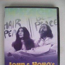 Vídeos y DVD Musicales: BEATLES . DVD JOHN & YOKO´S - YEAR OF PEACE. Lote 31609255