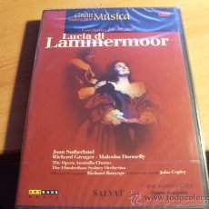 Vídeos y DVD Musicales: LUCIA DI LAMMERMOOR ( DOMIZETTI ) DVD PRECINTADO ( CD7). Lote 31669025