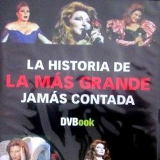 Vídeos y DVD Musicales: ROCÍO JURADO - LA HISTORIA DE LA MÁS GRANDE JAMÁS CONTADA - DVD. Lote 58371299