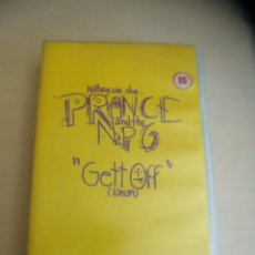 Vídeos y DVD Musicales: PRINCE AND NEW POWER GENERATION GETT OFF. VHS.. Lote 31746014