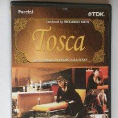 Vídeos y DVD Musicales: TOSCA DE PUCCINI DVD ORIGINAL EXCELENTE. Lote 32005541