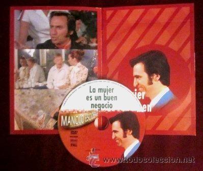 Vídeos y DVD Musicales: MANOLO ESCOBAR - DVD - LA MUJER ES UN BUEN NEGOCIO- DIRIGIDA POR VALERIO LAZAROV - Foto 2 - 32219838