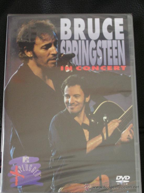 BRUCE SPRINGSTEEN UNPLUGGED MTV DVD (Música - Videos y DVD Musicales)