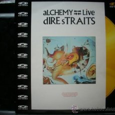 Vídeos y DVD Musicales: DIRE STRAITS ALCHEMY LIVE LASER DISC / PEPETO RECORDS. Lote 32514787