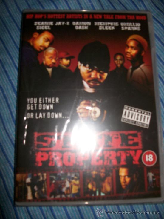 DVD STATE PROPERTY - HIP HOP - EN INGLES - JAY-Z DEANIE SIGEL - PRECINTADO - LIONS GATE - INCLUYE 4 (Música - Videos y DVD Musicales)