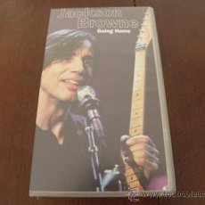 Vídeos y DVD Musicales: JACKSON BROWNE - VHS - GOING HOME . Lote 32556585