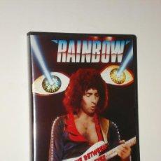 Vídeos y DVD Musicales: RAINBOW / LIVE BETWEEN THE EYES - STRAIGHT TOUR - SAN ANTONIO, 1982 - PROMO DVD NUEVO!!!. Lote 32599198