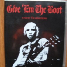 Vídeos y DVD Musicales: GIVE EM THE BOOT - PUNK ROCK - RANCID, JOE STRUMER, NEKROMANTIX, BASTARDS...CONTIENE UN GRAN POSTER. Lote 60803645