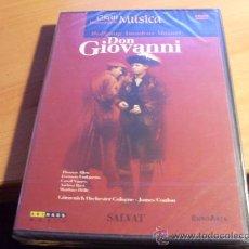 Vídeos y DVD Musicales: DON GIOVANNI ( MOZART ) DVD PRECINTADO (CD7). Lote 32713828