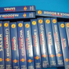 Vídeos y DVD Musicales: BAILAR 16 VIDEOS DE VHS. Lote 32820689
