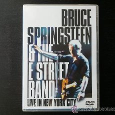 Vídeos y DVD Musicales: BRUCE SPRINGSTEEN & THE E STREET BAND - LIVE IN NEW YORK CITY - DOBLE DVD - 2001. Lote 32834739