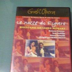 Vídeos y DVD Musicales: MOZART - LE NOZZE DI FIGARO.. Lote 33376638