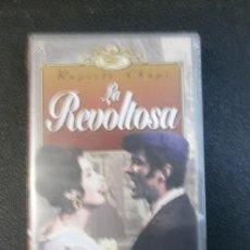 Vídeos y DVD Musicales: ZARZUELA LA REVOLTOSA-VHS. Lote 33398005