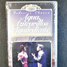 Vídeos y DVD Musicales: ZARZUELA AGUA AZUCARILLOS Y AGUARDIENTE-VHS. Lote 195187381