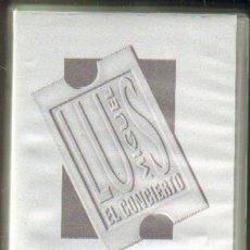 Vídeos e DVD Musicais: LUIS MIGUEL EN CONCIERTO. GRABADO EN VIVO DURANTE AGOSTO DE 1994 (VHS-378). Lote 183770062