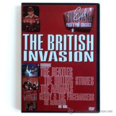 Vídeos y DVD Musicales: ED SULLIVAN'S ROCK 'N' ROLL CLASSICS - THE BRITISH INVASION (BEATLES + STONES + ANIMALS...) - DVD. Lote 34535136