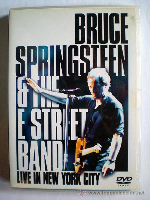 BRUCE SPRINGSTEEN & THE E STREET BAND: LIVE IN NEW YORK CITY (IMPECABLE) 2 DVD (Música - Videos y DVD Musicales)