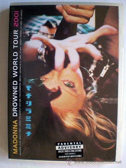 DVD MADONNA: DROWNED WORLD TOUR 2001 (IMPECABLE) (Música - Videos y DVD Musicales)