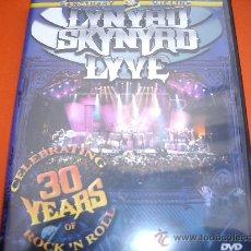 Vídeos e DVD Musicais: LYNYRD SKYNYRD LIVE CELEBRATING 30 AÑOS. Lote 36314461