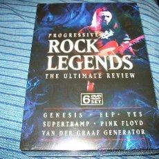 Vídeos y DVD Musicales: 6DVD ROCK LEGENDS - ULTIMATE REVIEW - GENESIS - ELP - YES - SUPERTRAMP - VAN DER GRAAF GENERATION -. Lote 35537914