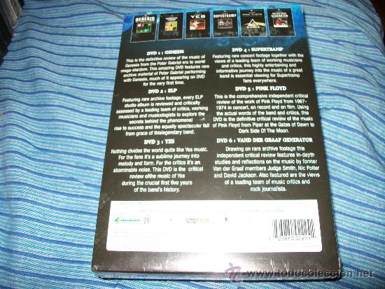 Vídeos y DVD Musicales: 6DVD ROCK LEGENDS - ULTIMATE REVIEW - GENESIS - ELP - YES - SUPERTRAMP - VAN DER GRAAF GENERATION - - Foto 2 - 35537914