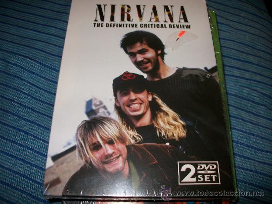2DVD NIRVANA - THE DEFINITIVE CRITICAL REVIEW - ENTREVISTAS Y PARTES DE CONCIERTOS (Música - Videos y DVD Musicales)