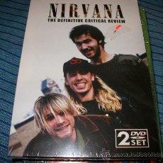 Vídeos y DVD Musicales: 2DVD NIRVANA - THE DEFINITIVE CRITICAL REVIEW - ENTREVISTAS Y PARTES DE CONCIERTOS. Lote 35539004